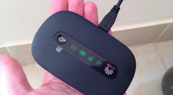 Huawei Hotspot mit SIM Karte aus Ägypten