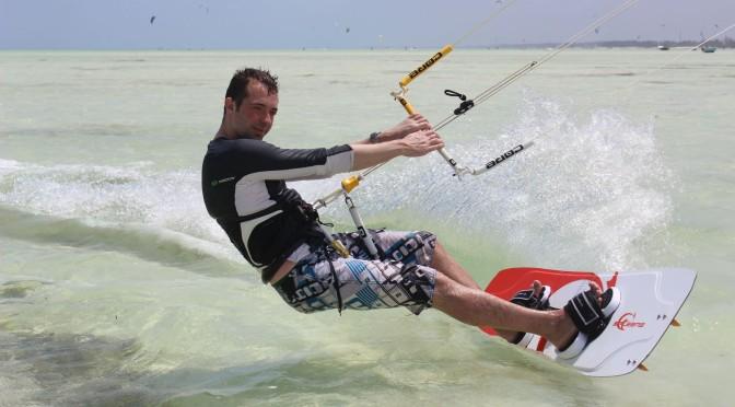 Jens in Zanzibar
