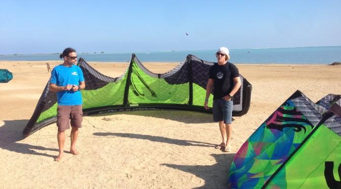 KiteCollege in Hamata mit PKRA Pro Alberto Rondina