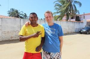 Davi Buggy-Taxifahrer Davi und Jens
